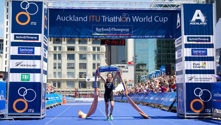 ITU World Triathalon Series Auckland CBD Road Closure Mensworks Barber